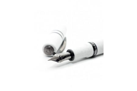 Visconti Homo Sapiens Lava Color Ash White fountain pen