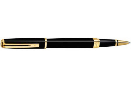 Waterman Exception slim lacca nera gt roller