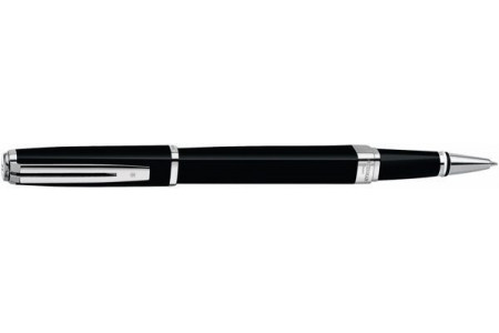 Waterman Exception slim lacca nera st roller
