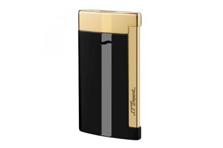 Dupont Slim 7 nero oro 027708