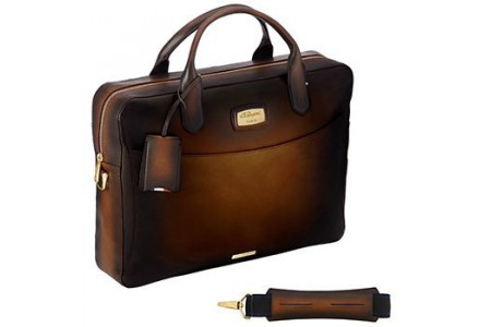 Dupont Bags document holder atelier brown