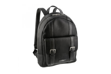 Dupont Backpacks line D soft grained leather