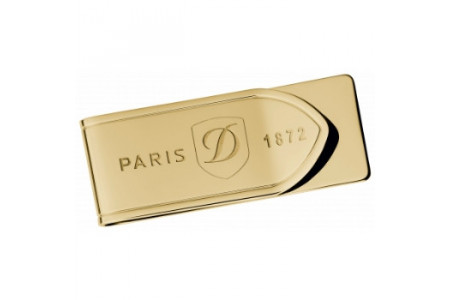Dupont Money Clips rectangle gold