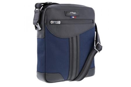 Dupont Bags zip messenger defi millenium blue