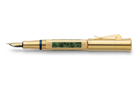 Graf von Faber-Castell Pen of the year 2015 placcata oro stilografica