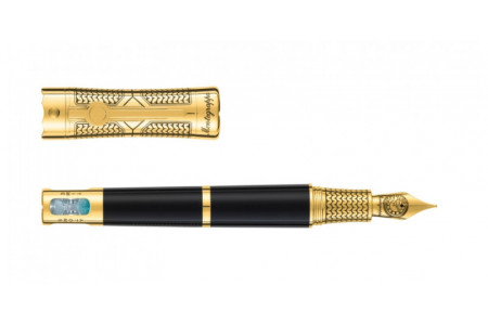 Montegrappa Time and Brain 18kt. gold trim fountain pen