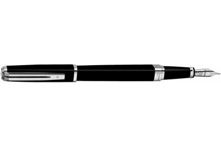 Waterman Exception slim black lacquer st fountain pen