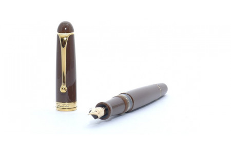 Aurora 88th Anniversary brown fountain pen