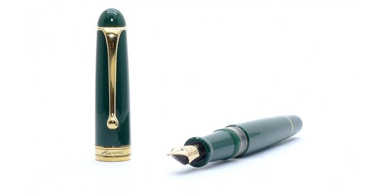 Aurora 88th Anniversary green fountain pen