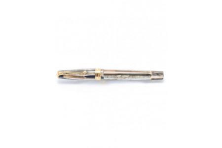 Conway Stewart Model 100 grey pearl spaghetti fountain pen