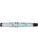 Aurora Optima Caleidoscopio luce verde fountain pen