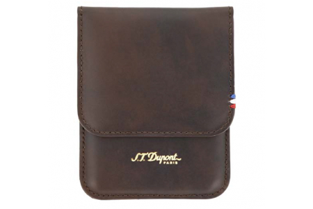 S.T. Dupont cigar case cigarillos atelier brown 183140