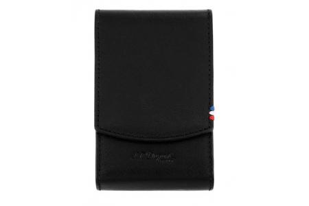 S.T. Dupont cigarette case line D black 183030