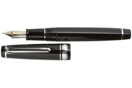 Sailor Professional Gear black rhodium trim fountain pen