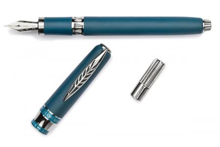 Pineider Alchemist Kilauea Blue 14kt. nib fountain pen