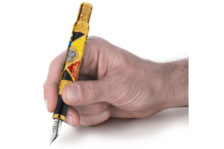 Montegrappa Harry Potter Hogwarts gold trim fountain pen