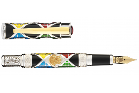 Montegrappa Harry Potter House Colors Slytherin fountain pen