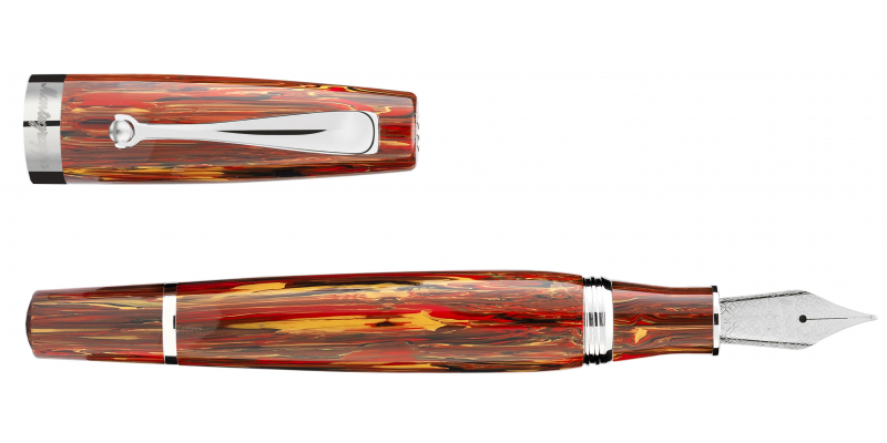 Montegrappa Mia Flaming Heart fountain pen