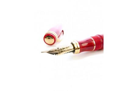 Bexley Florida Miami red sunset fountain pen