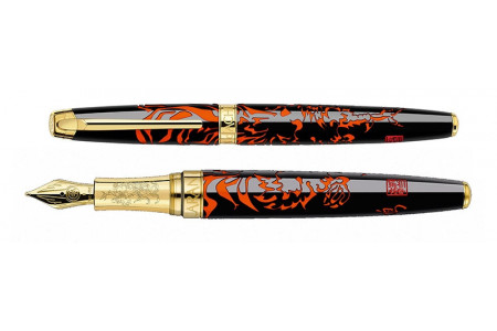 Caran d Ache Year of the Rooster fountain pen