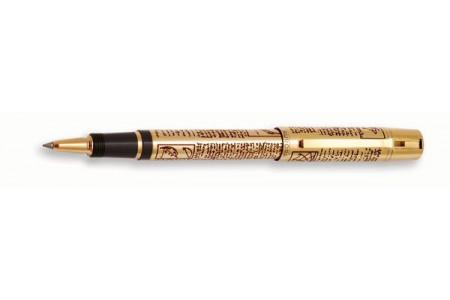 Aurora Leonardo da Vinci gold plated roller