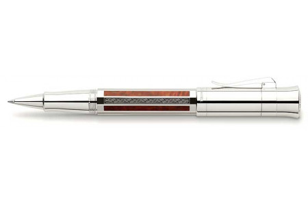 Graf von Faber-Castell Pen of the year 2017 Vikings placcata platino roller