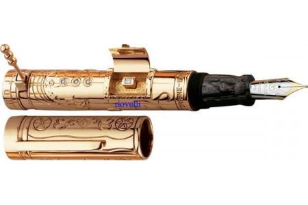 Marlen Cadrane Solaire deluxe gold fountain pen
