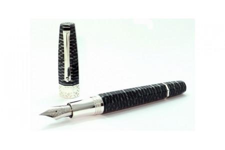 Montegrappa Extra Otto Limited zebra fountain pen