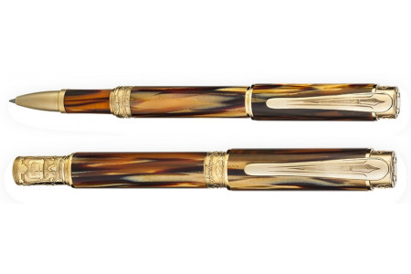 Montegrappa Ernest Hemingway The Writer finiture oro 18kt. roller