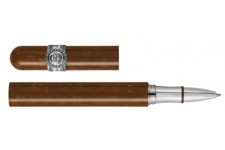 Montegrappa Cult Cigar finiture argento roller