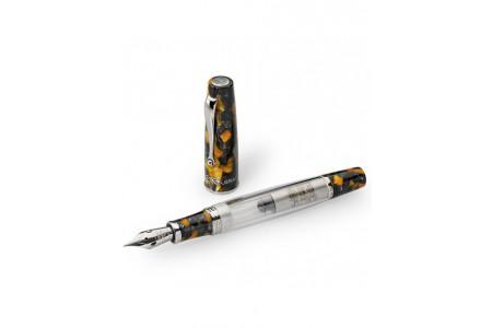 Montegrappa La Canzone del Grappa memorial black flex nib fountain pen