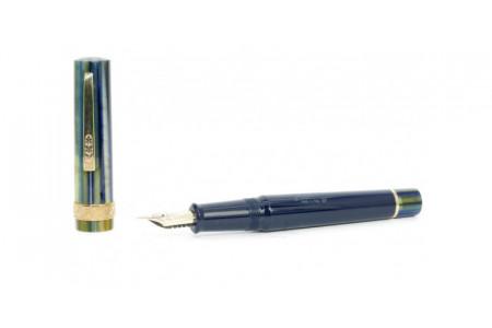 Stipula Florentia classic blue-green fountain pen