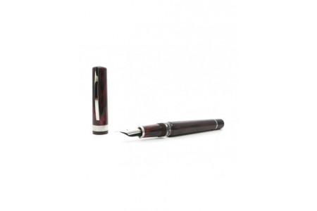 Visconti Voyager 30 red ebonite fountain pen