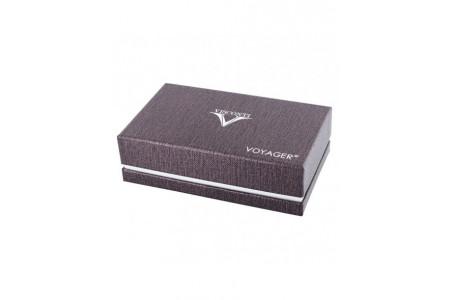 Visconti Voyager 30 orange ebonite fountain pen