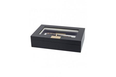 Visconti Voyager 30 green ebonite fountain pen