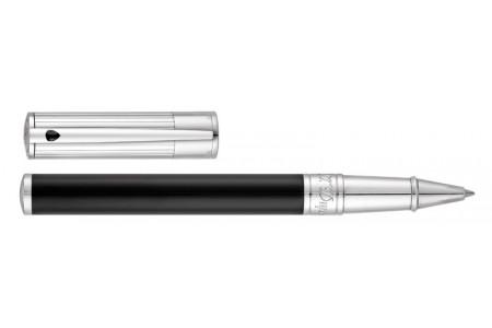Dupont D-Initial nera finiture cromo roller 262201