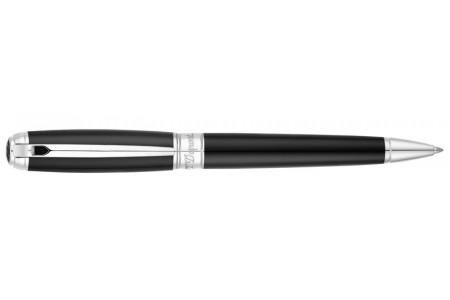 Dupont New Line D Large lacca nera finiture palladio sfera 415100L