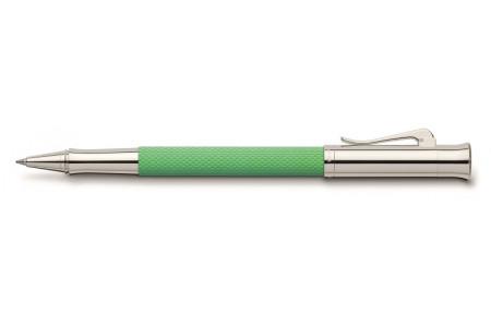 Graf von Faber-Castell Guilloche verde serpente roller