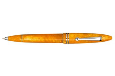 Leonardo Officina Italiana Furore arancione finiture rodio sfera