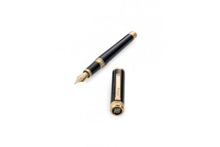 Montegrappa Zero finiture oro pennino 14kt. stilografica